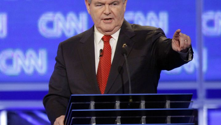Debatte in South Carolina: Newt Gingrich - er kam, sah und polterte