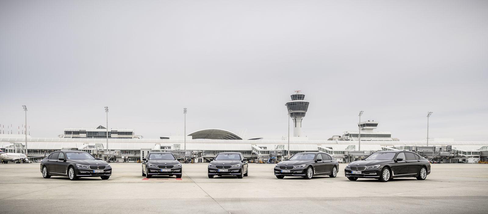 BMW-Hybridfahrzeuge