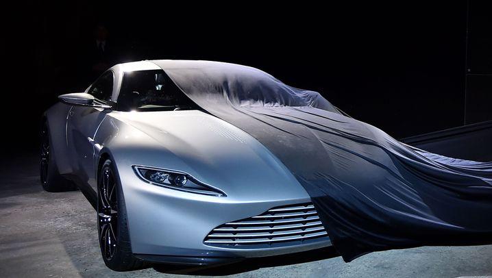 James Bond Aston Martin Db10 Ist Das Neue Auto Für 007 Der Spiegel