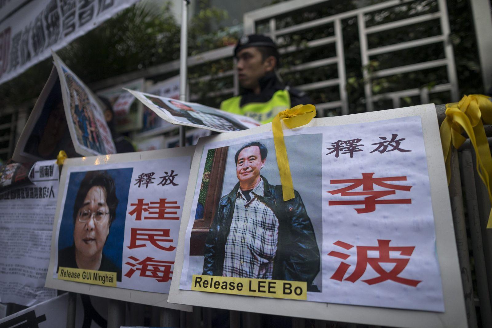Hongkonger Buchhändler wieder verschwunden