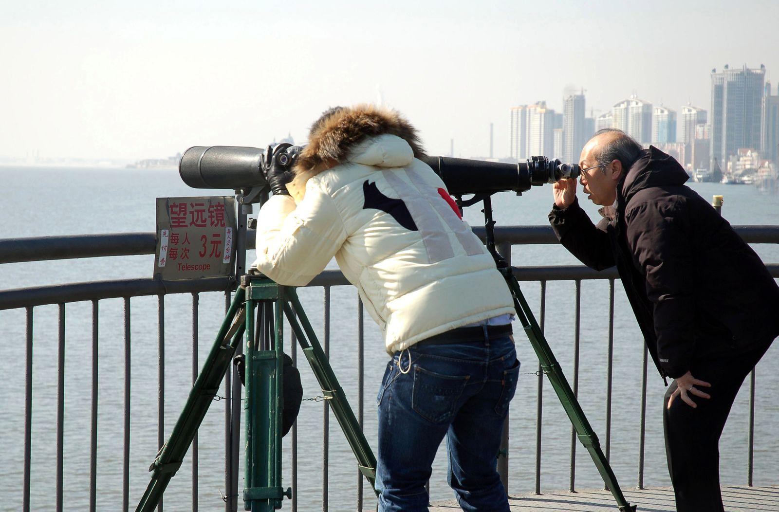 Nordkorea / Touristen