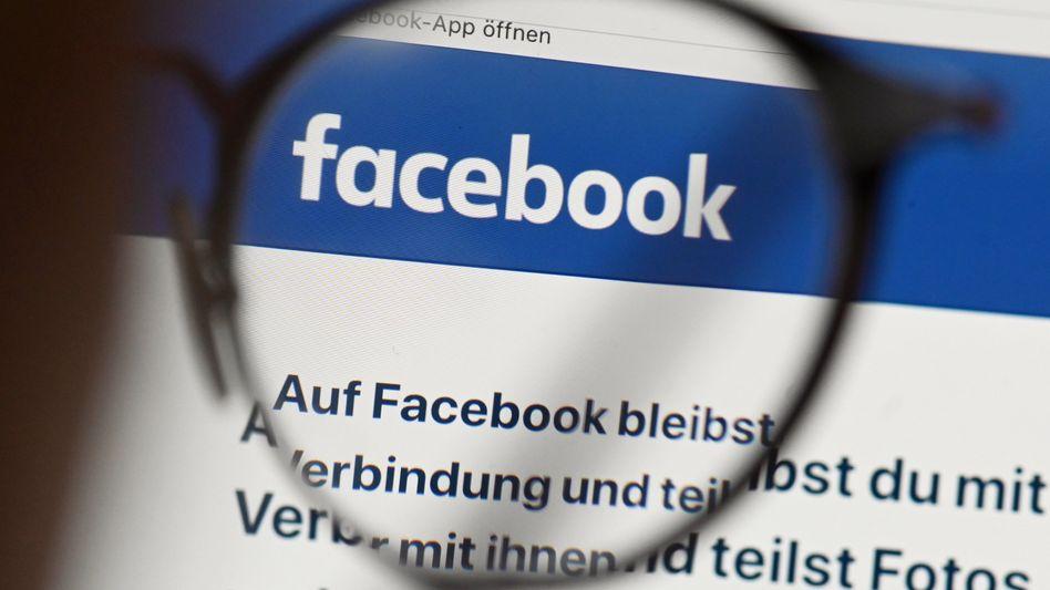 Facebook-App auf einem Tablet: »Die werden sich hier nie integrieren«