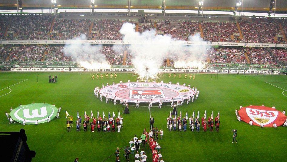 Volkswagen-Arena in Wolfsburg: Welcher Fan kauft schon einen Industrieroboter