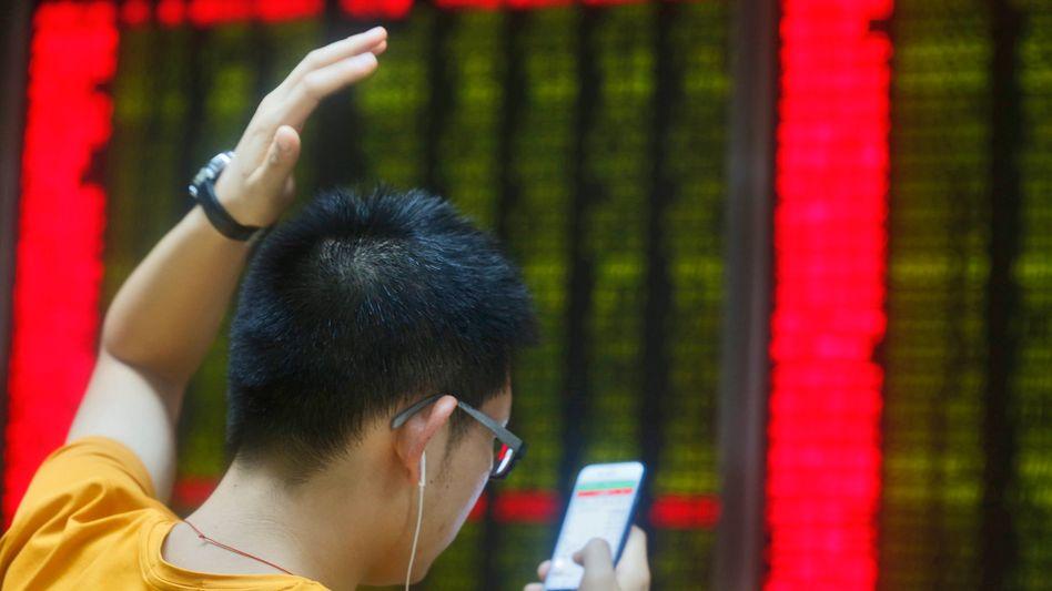 Handelshaus in Peking: Versicherungen dürfen jetzt auch Aktien kaufen