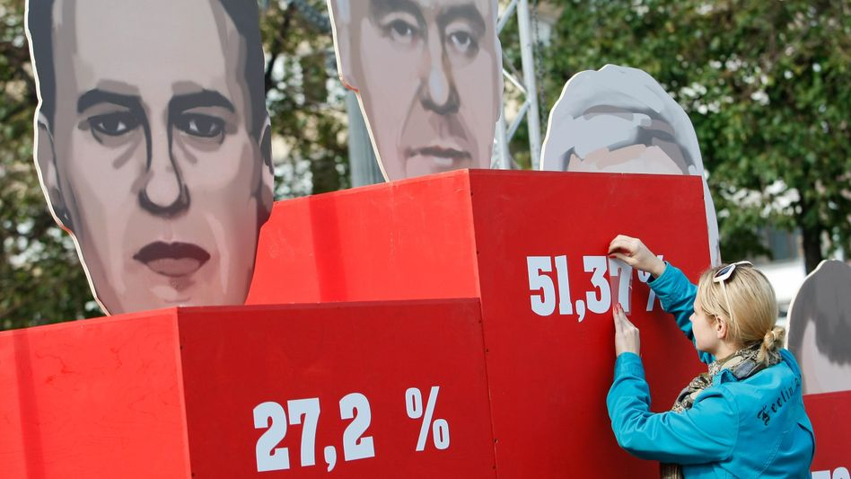 Election officials on Monday said Sergei Sobyanin had won the Moscow mayoral election.