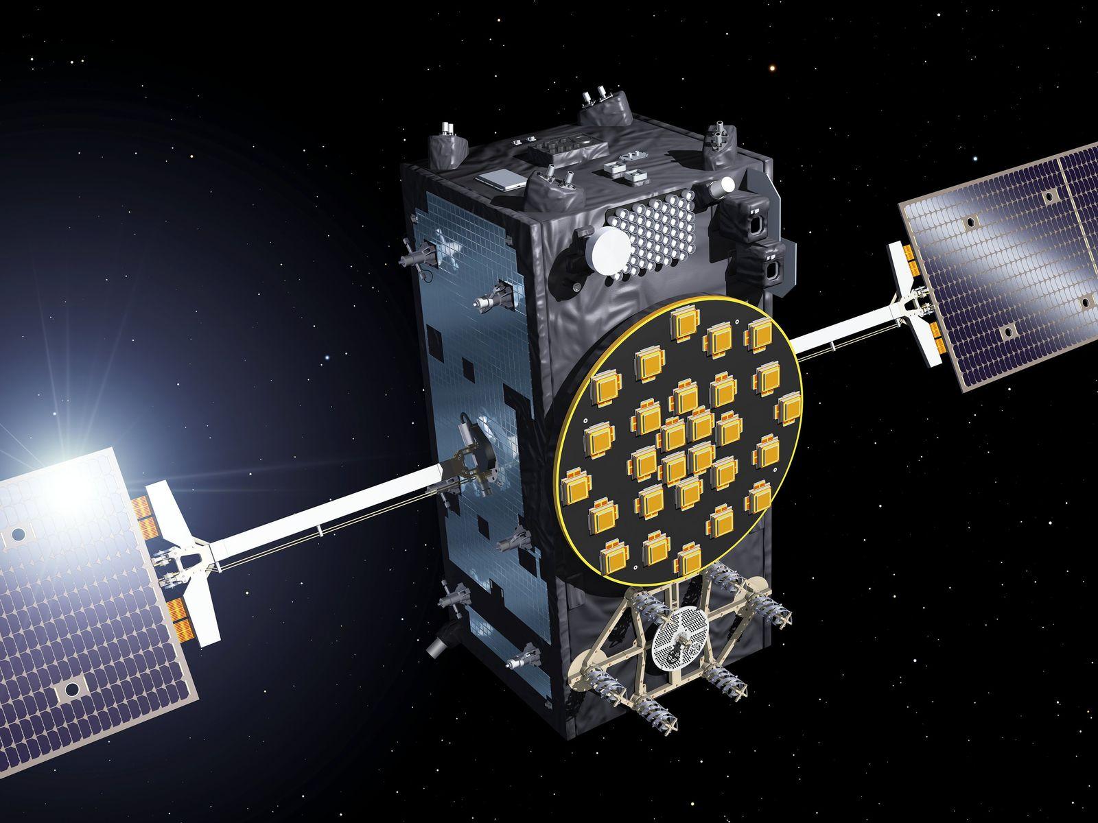 EINMALIGE VERWENDUNG Wissenschaft/ Rückblick/ 2016/ Dezember/ Galileo-Satellitensystem