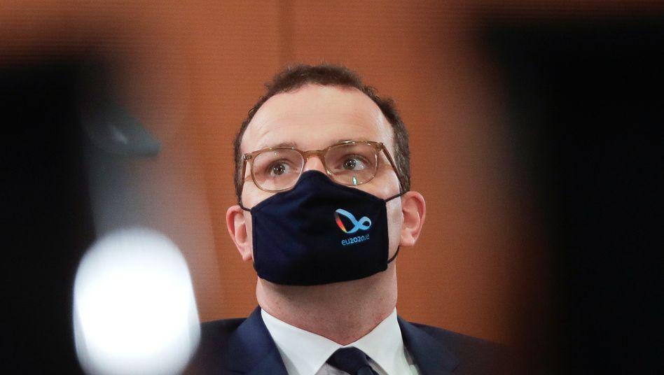 Wegen einer Covid-19-Erkrankung war Gesundheitsminister Spahn zwei Wochen in Quarantäne
