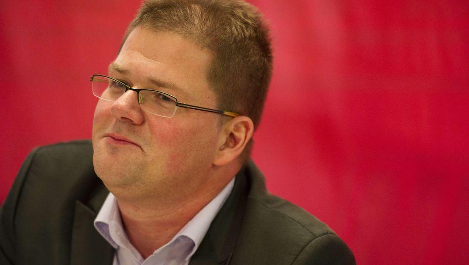 Neuer NPD-Vorsitzender Apfel: Kritik am Wahlkampf in Berlin