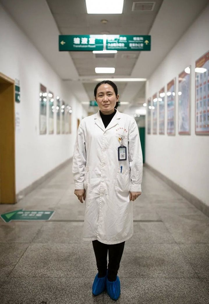 "Dr. Ai Fen: ""I was so scared, I broke out in a cold sweat."""