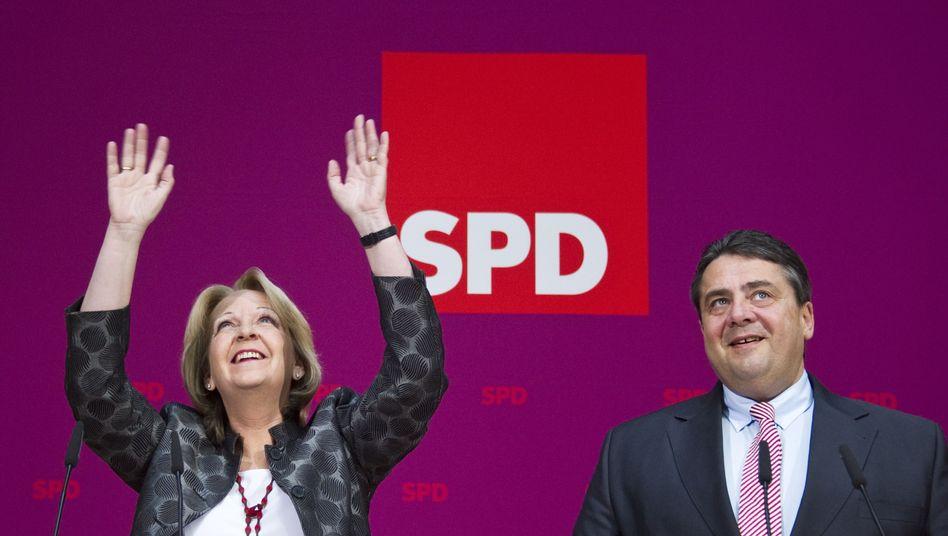 SPD-Frau Kraft: Platz eins in der Beliebtheitsskala