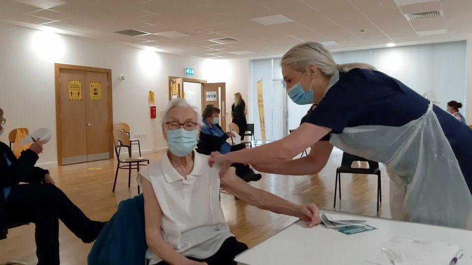 Impfung in Schottland (Archivbild)