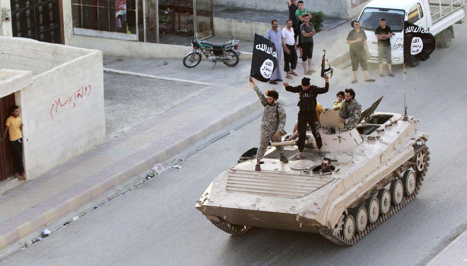 ISIS/ Syrien/ Raqqa