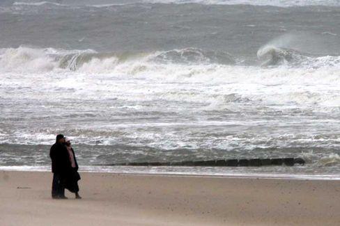 """Sturm am Nordseestrand: """"Kyrill"""" war schneller als noch am Mittwoch prognostiziert wurde"""