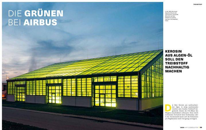 Auszug aus Broschüre von Airbus und Heinrich-Böll-Stiftung