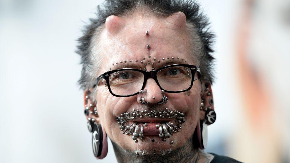 Rolf Buchholz: Meistgepiercter Mann der Welt in Dubai unerwünscht
