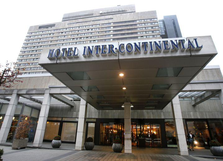 Tatort Intercontinental Hotel in Frankfurt
