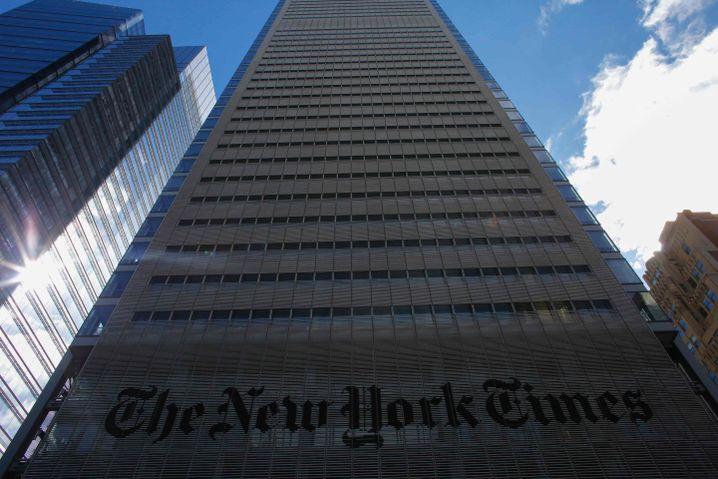 """New York Times""-Redaktion"