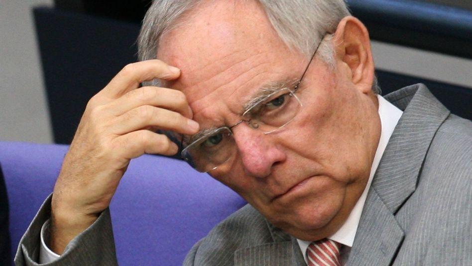Finanzminister Schäuble: Kommunen können aufatmen