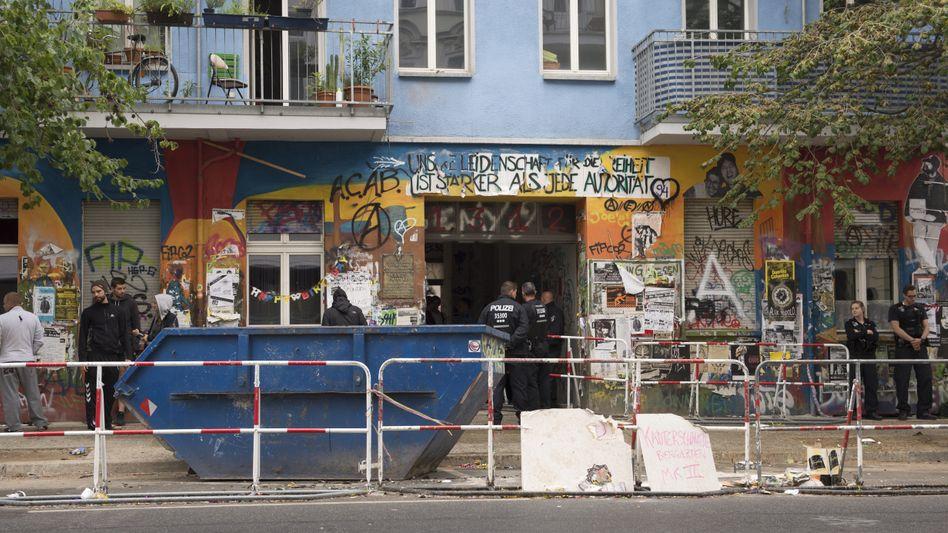 Haus Rigaer Straße 94 in Berlin (Archivfoto)