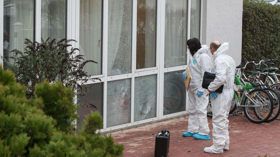Hessen: Unbekannte schießen auf schlafenden Asylbewerber