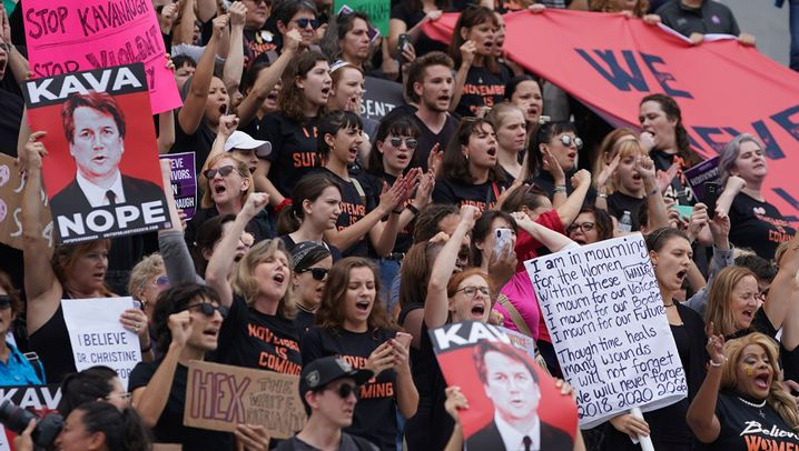 Washington: Proteste gegen Kavanaugh-Wahl