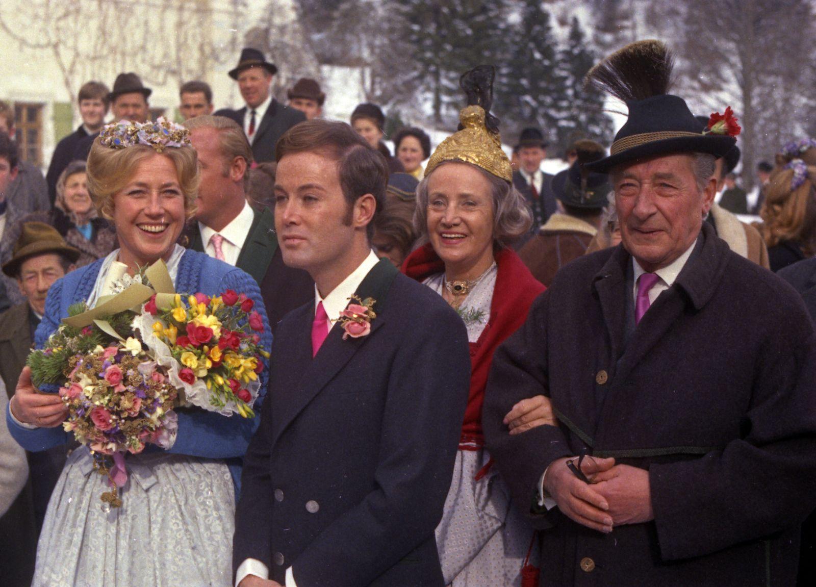 Austria Krupp Wedding 1969