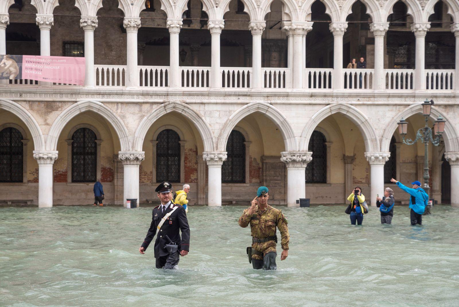 EINMALIGE VERWENDUNG PLUS SP 49/2018 S. 12 Klimawandel Venedig