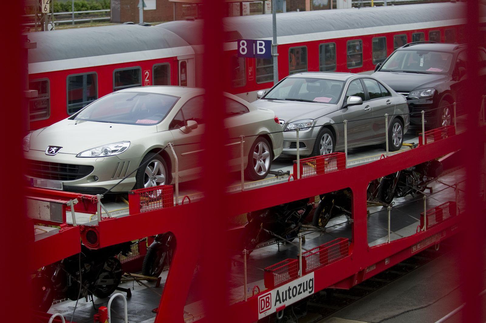 EINMALIGE VERWENDUNG Autozug Berlin-Wannsee