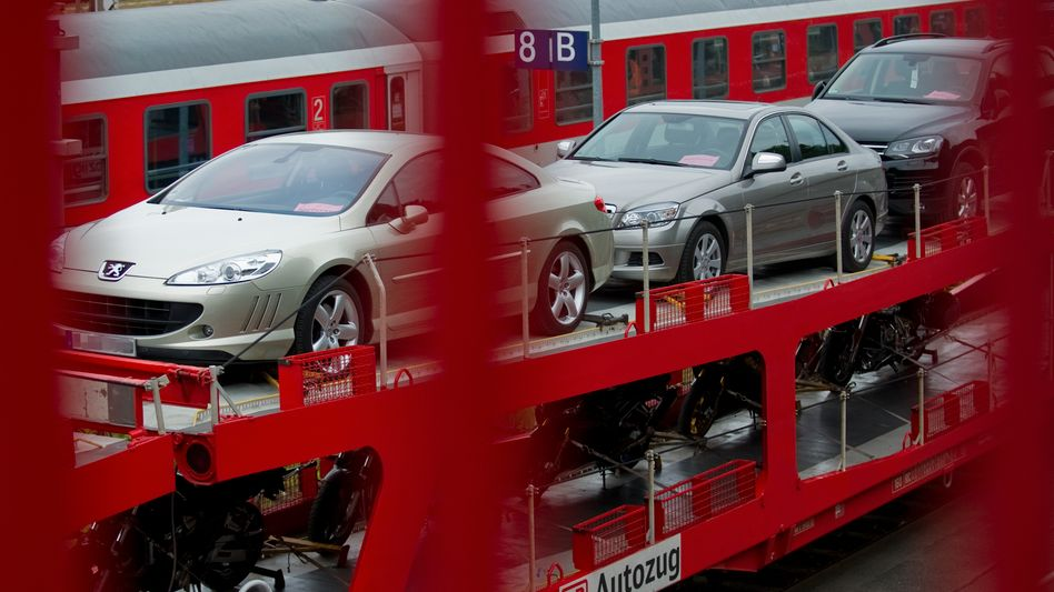 Autozug am Terminal Wannsee in Berlin: Unrentabler Verkehr
