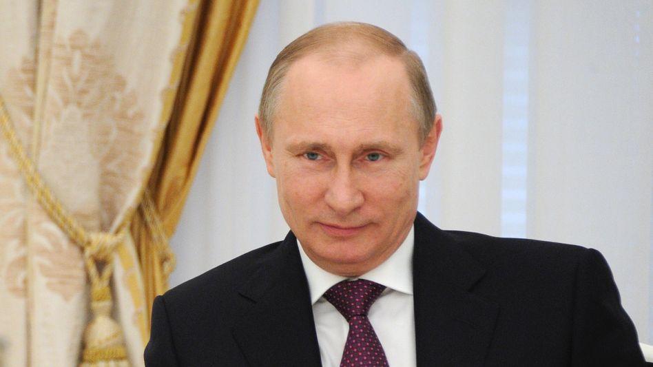 Russlands Präsident Putin: Ukraine muss Armee aus Südosten zurückziehen