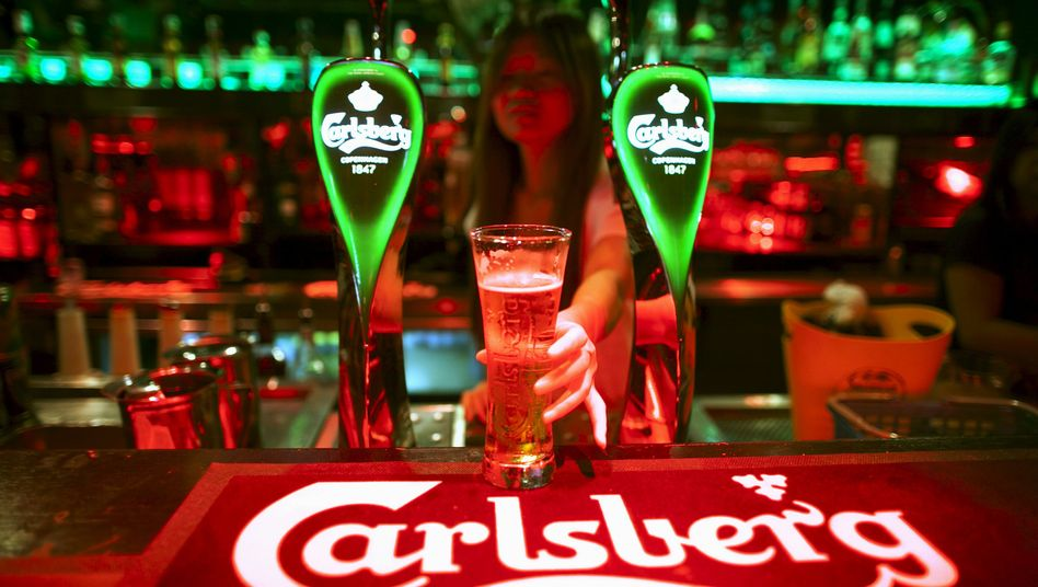Angezapft: Carlsberg
