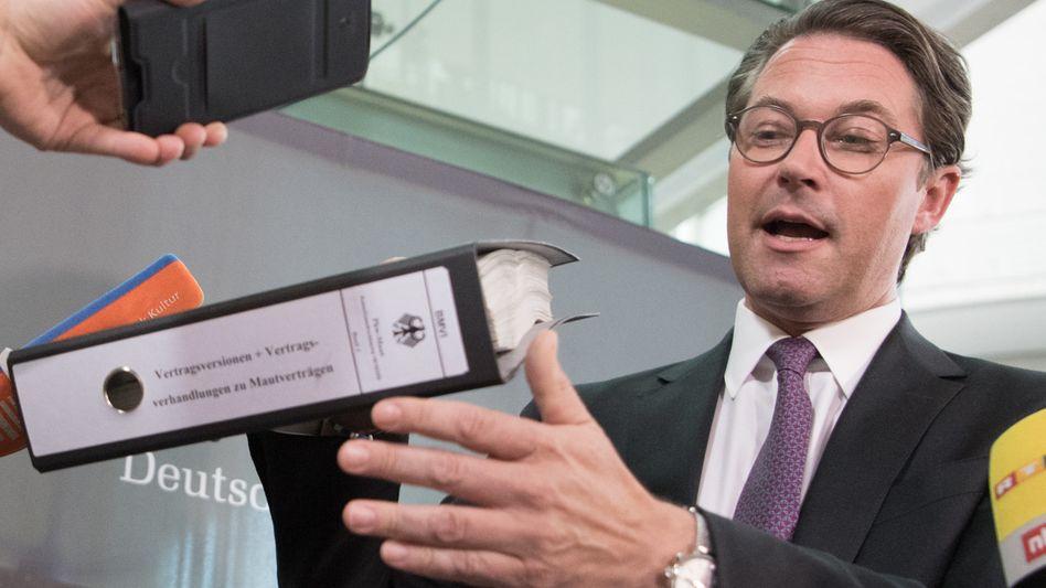 "Verkehrsminister Andreas Scheuer (CSU): ""Maximal mögliche Transparenz"""