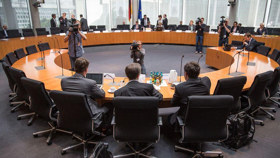 NSA-Ausschuss im Bundestag (Archivbild): Aufregung um den GCHQ