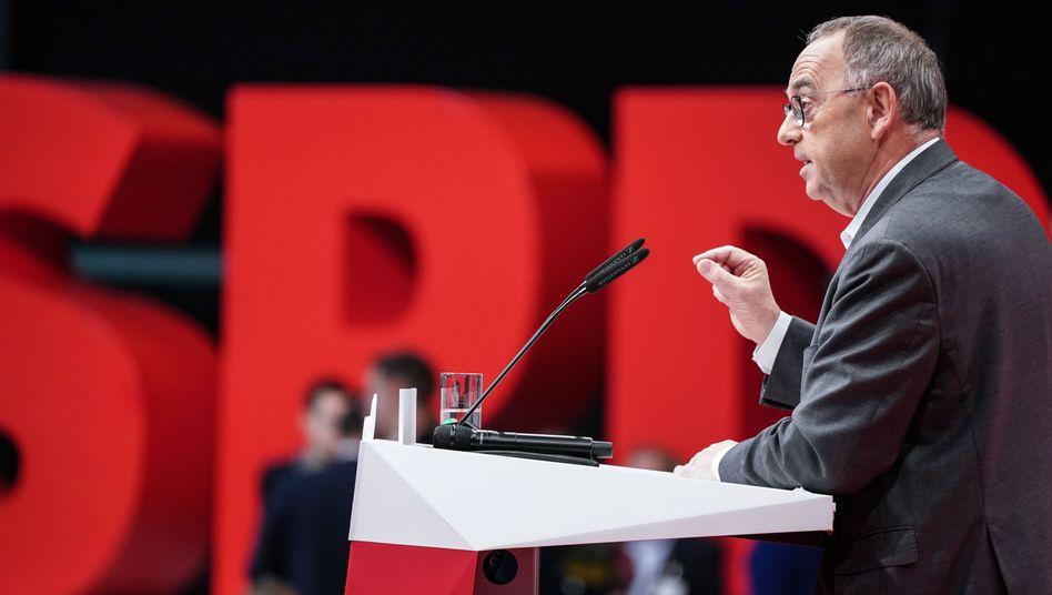 SPD-Chef Norbert Walter-Borjans: Freibeträge von zwei Millionen Euro für Alleinstehende