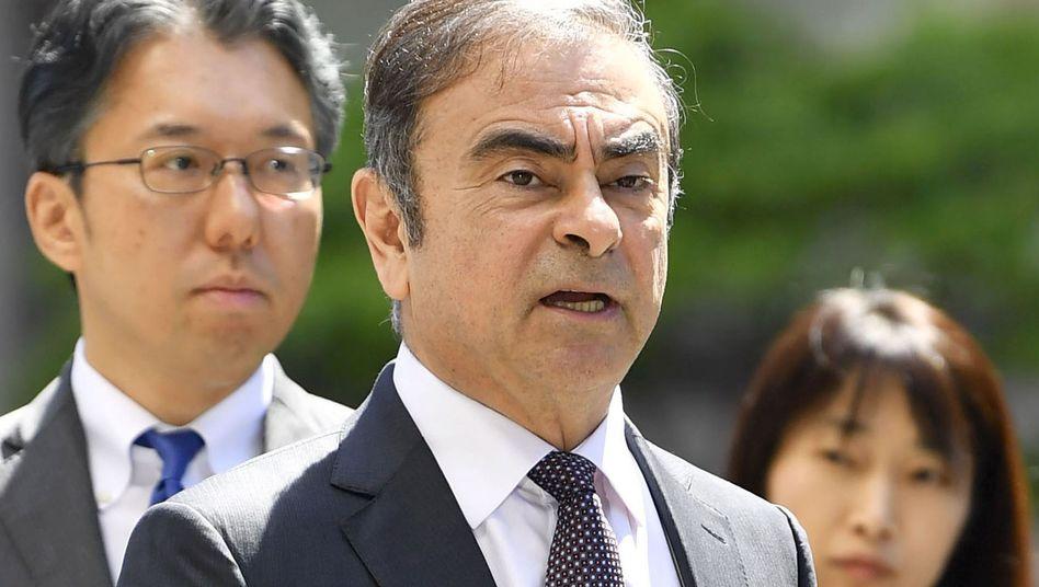 Carlos Ghosn Ende Mai