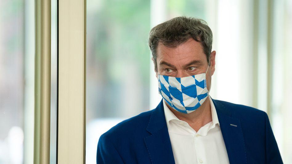 """""""Bayern geht vor"""" - mit diesen Worten begründete Markus Söder seine Absage für einen Besuch an der Nordsee"""