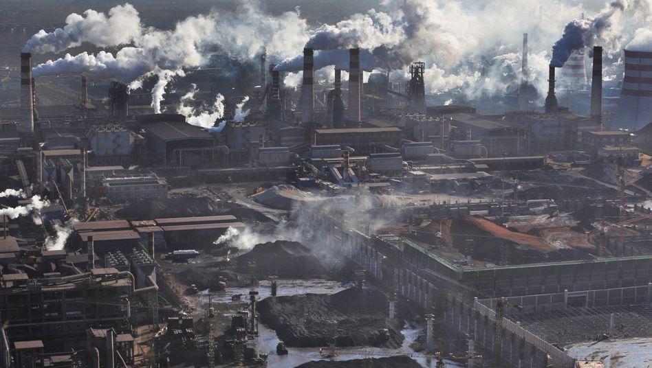 Stahlindustrie in Qian'an City in Nordchina: Warum sank der CO2-Ausstoß?
