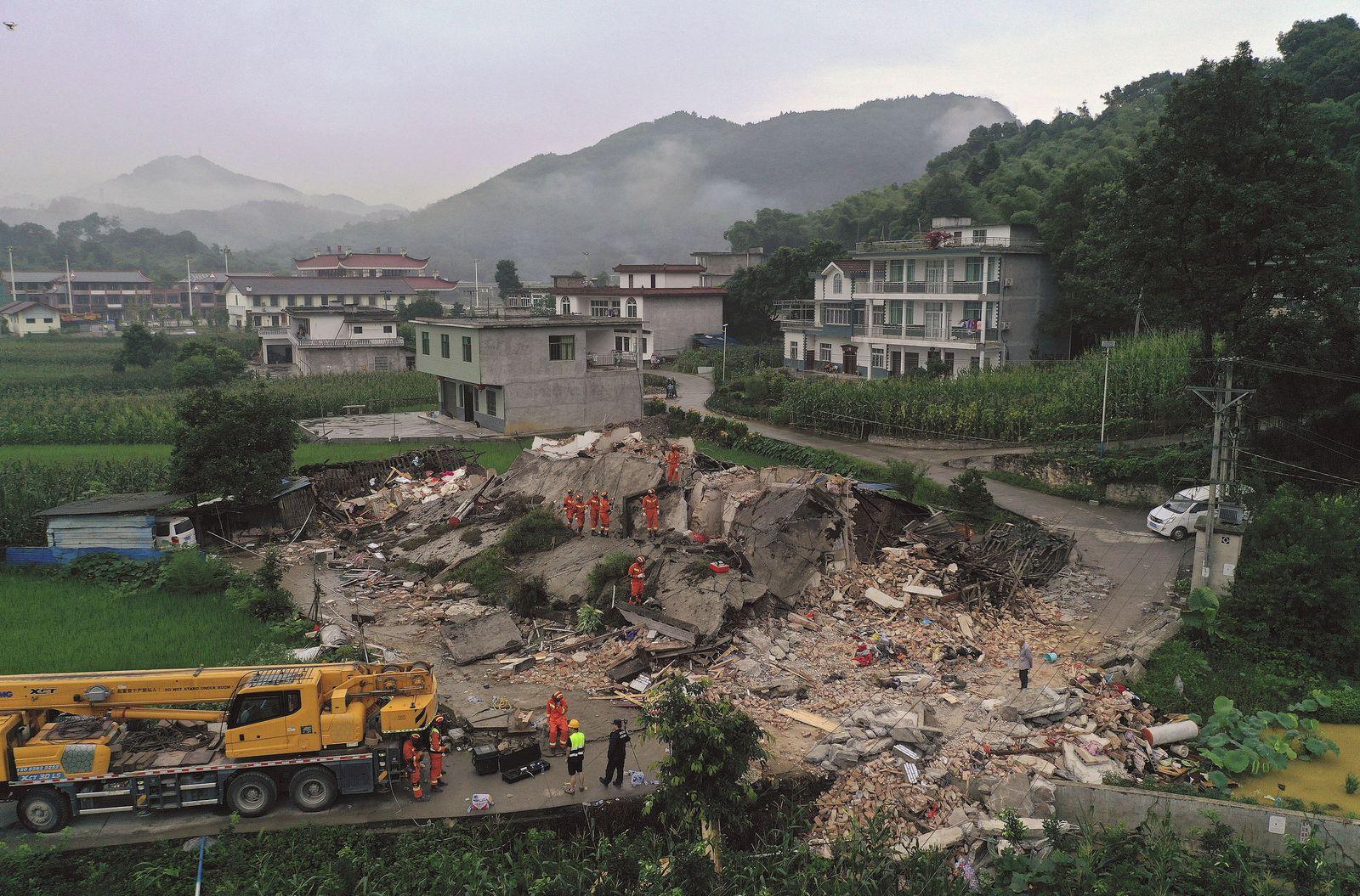 China Erdbeben/ 2019