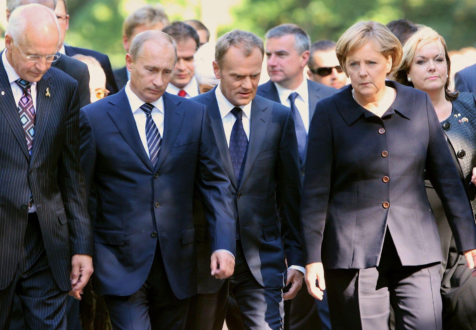 Gedenkfeier Kriegsbeginn Danzig Regierungschefs