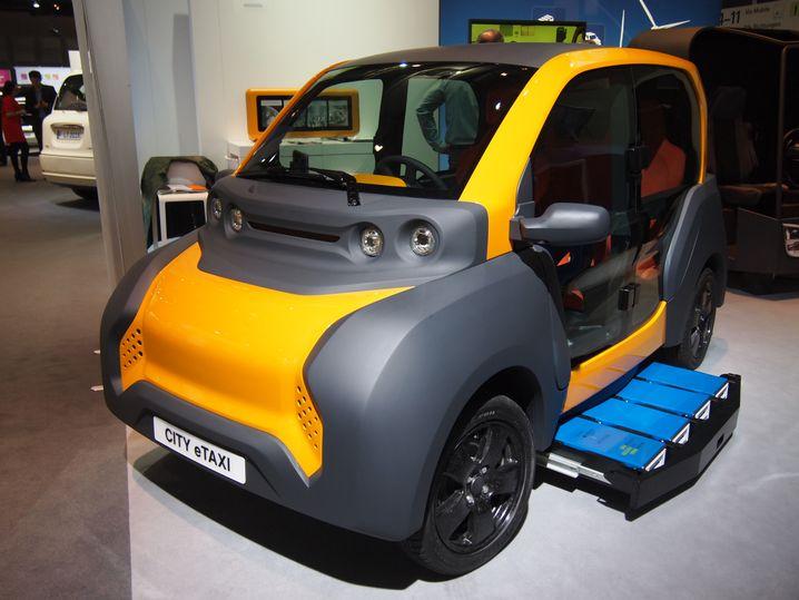 E-Taxi aus Deutschland 2017