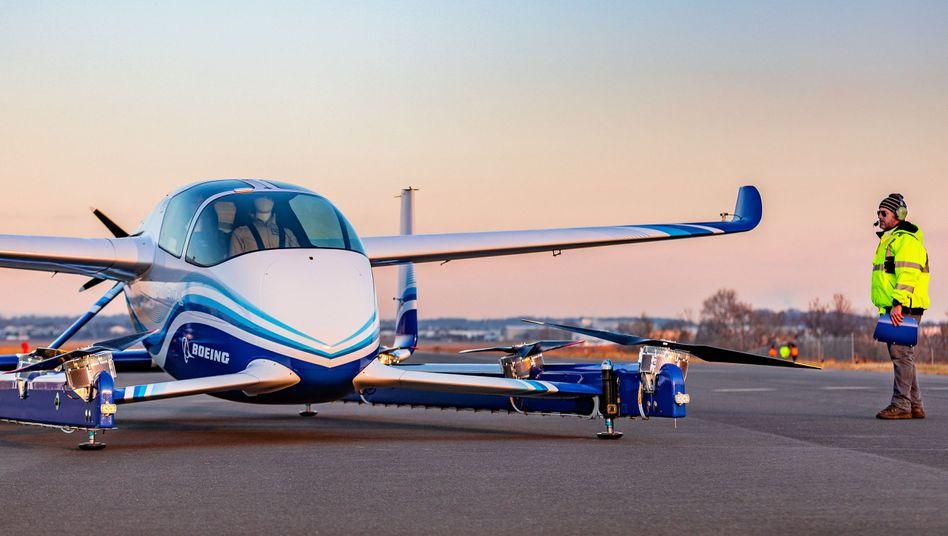 "Boeings Prototyp eines ""Autonomous Passenger Air Vehicle"" (PAV)"