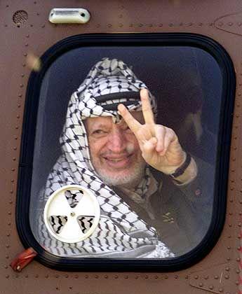 Schwer zu durchschauen: Jassir Arafat