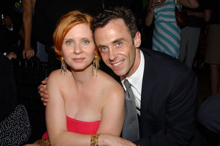 David Eigenberg alias Steve Brady mit Miranda-Darstellerin Cynthia Nixon