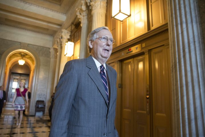 Republikaner-Senator Mitch McConnell