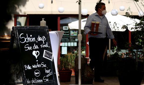 Hoffnung auf Lockerungen – Biergarten in Magdeburg