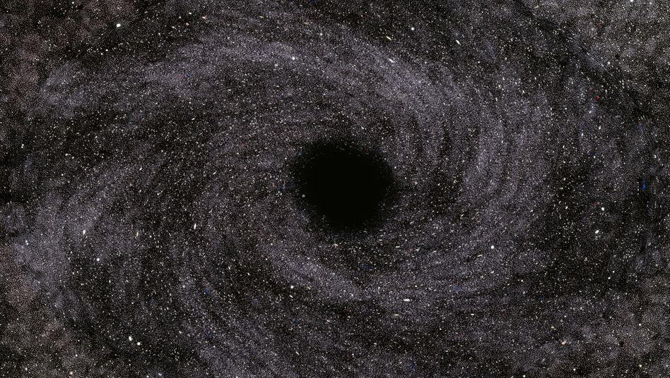 Anders als andere schwarze Löcher, ist das nun entdeckte tatsächlich unsichtbar