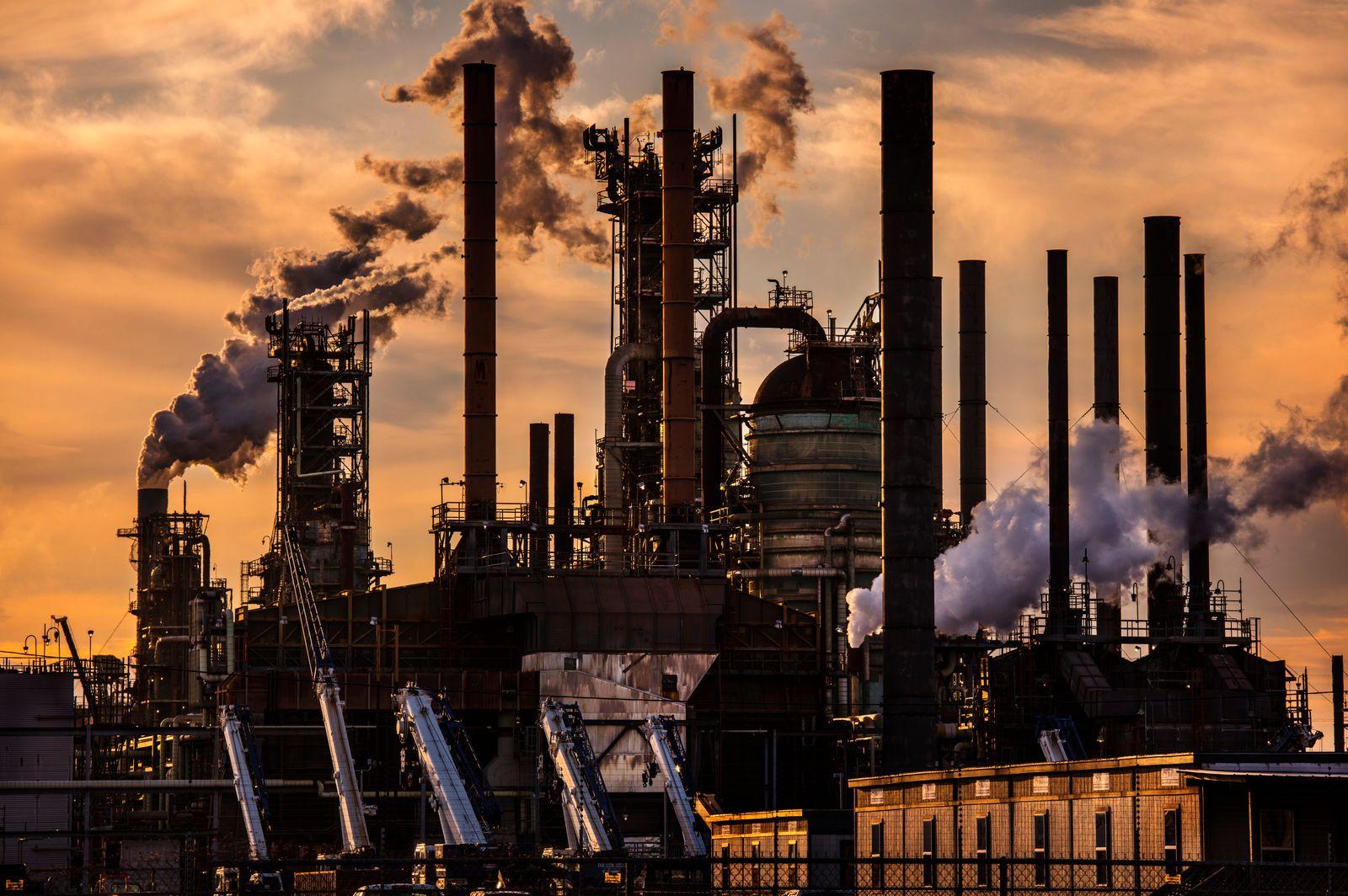 Exxon Mobil Oil Refinery Baton Rouge