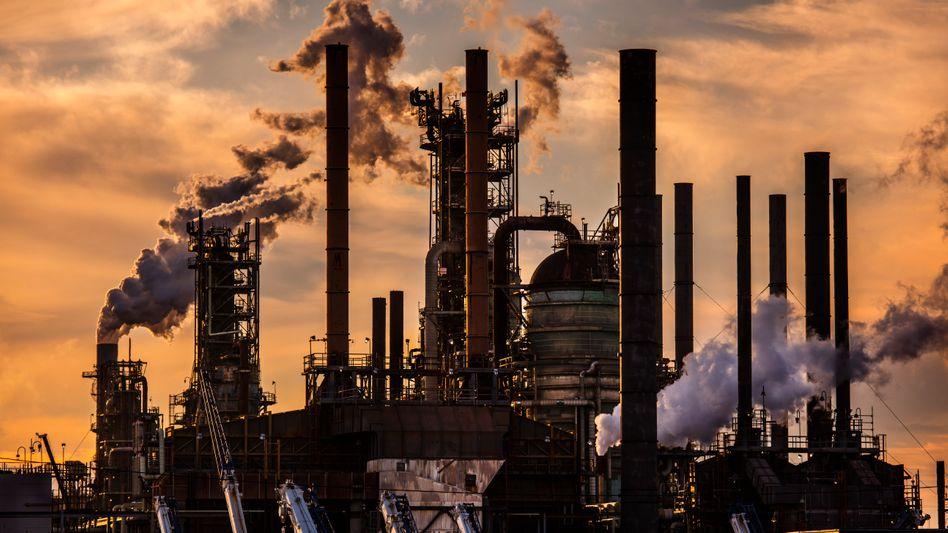 ExxonMobil-Raffinerie in Baton Rouge, Louisiana: Milliardeninvestitionen in neue Ölquellen – trotz Klimawandel