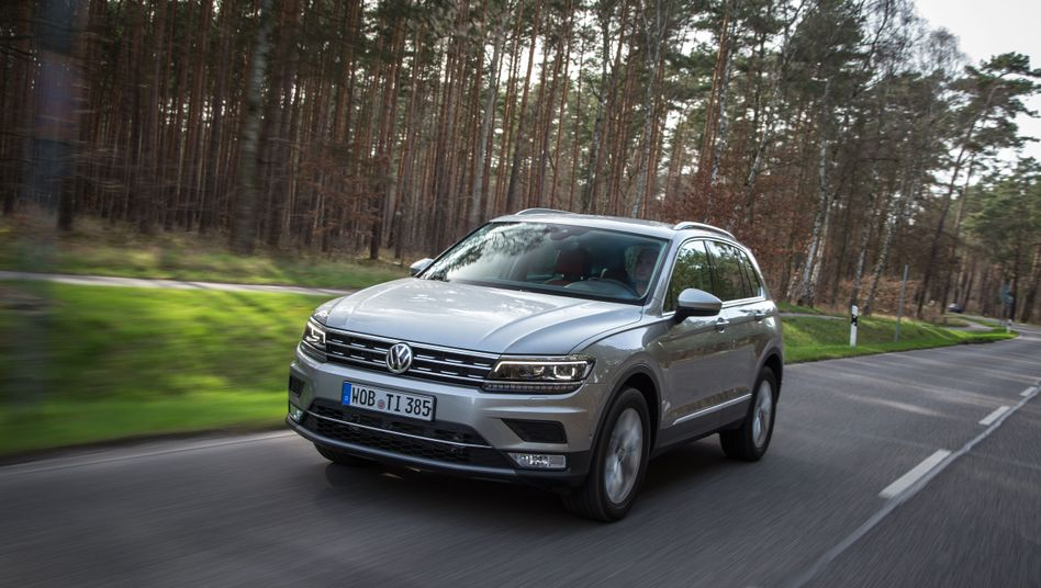 Volkswagen ruft unter anderem den Tiguan wegen Airbag-Problemen zurück