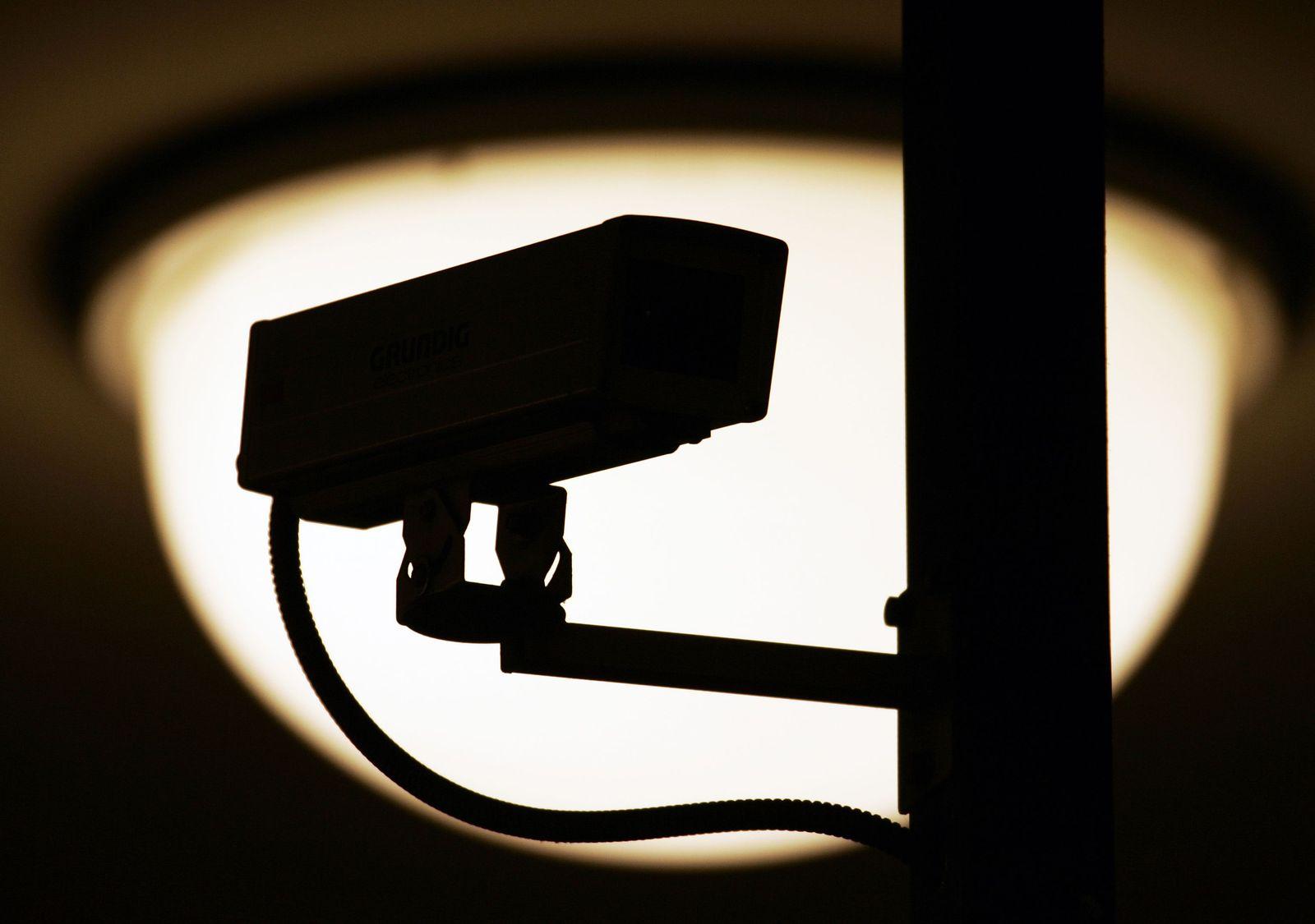 Symbolbild Videoüberwachung/ Überwachungskamera/ Überwachung/ Sicherheit